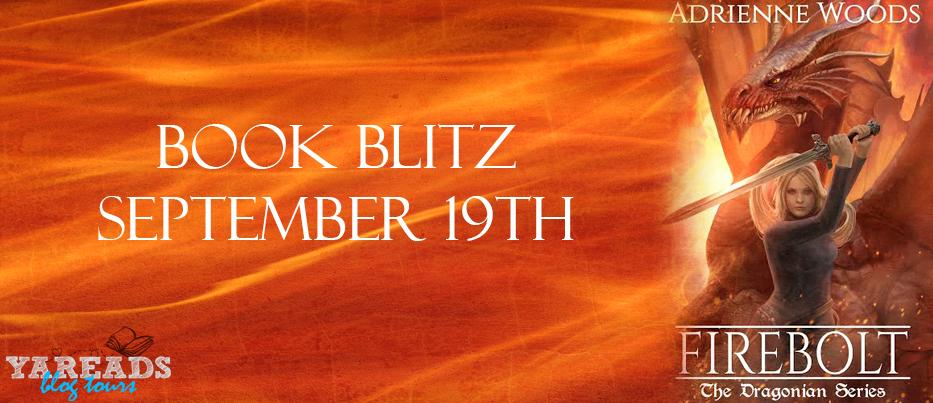 Book Blitz: Firebolt by Adrienne Woods + GIVEAWAY!!!