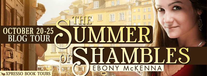 Blog Tour: The Summer of Shambles by Ebony McKenna