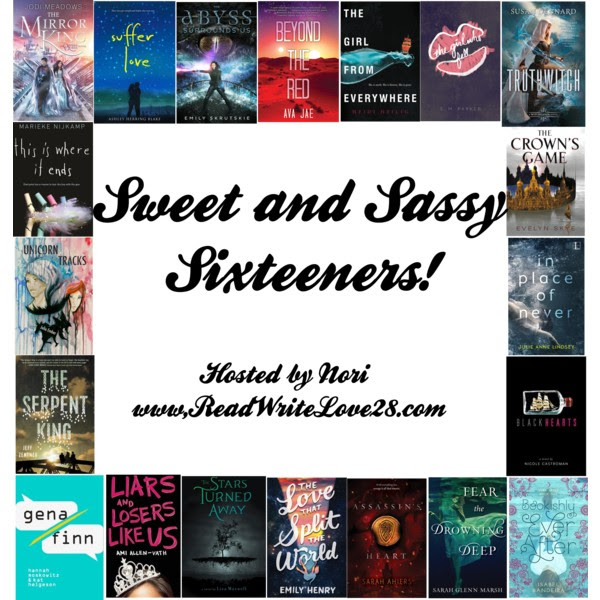 Sweet and Sassy Sixteeners: Day Seven- Brigid Kemmerer!