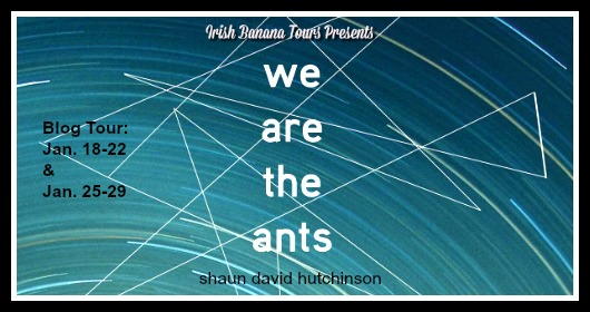 Blog Tour: We Are the Ants by Shaun David Hutchinson Interview + Giveaway!!!