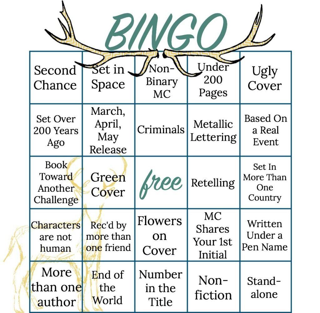 Bookish Bingo Spring 2016 Wrapup + Summer 2016 Signup!