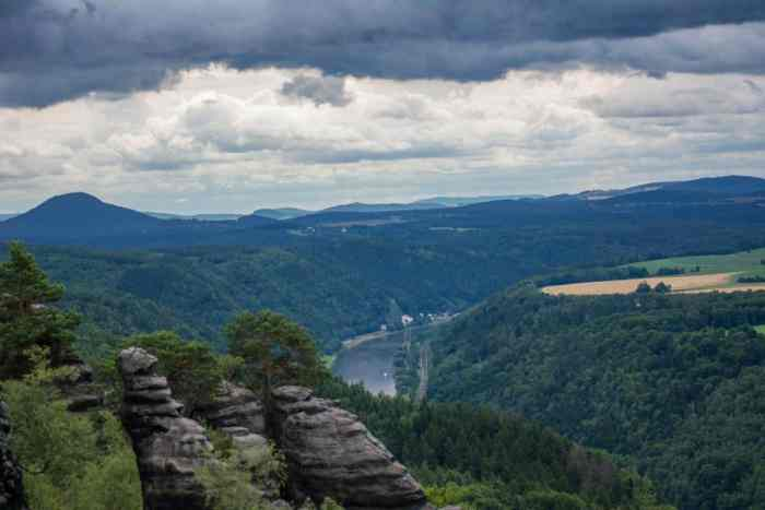 Top hikes in Saxon Switzerland: This hike to Schrammsteine is my absolute favorite and among the top 10 hikes in Saxon Switzerland.