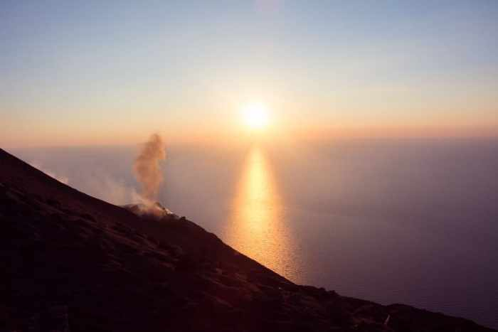 Stromboli sunset tour - Hike up Stromboli was the most amazing and best hike in Sicily