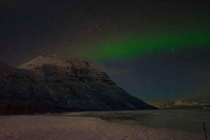 Where to see Nordic lights in Norway, Tromsø - without guided bus tour