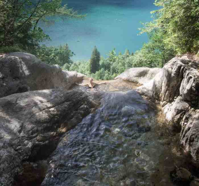 Natural pool Königssee - how to get to the natural pool at Kings lake