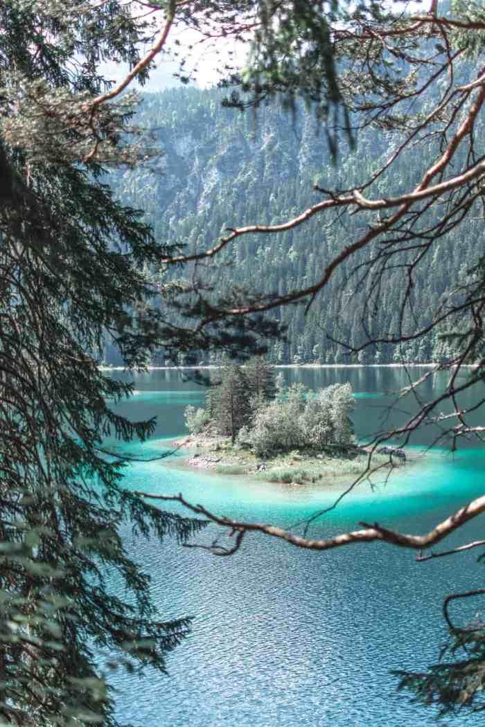 Die besten Fotospots am Eibsee