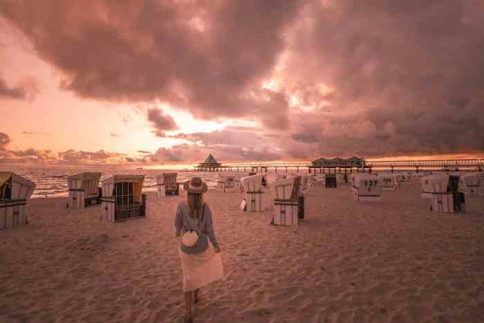 Best sunrise and sunset spots of Usedom: Sunrise at Heringsdorf Pier
