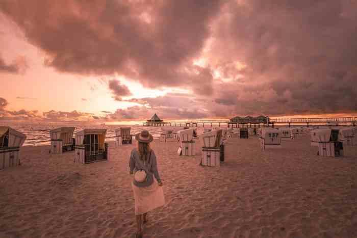 Best sunrise and sunset spots of Usedom: Sunrise at Heringsdorf Pier