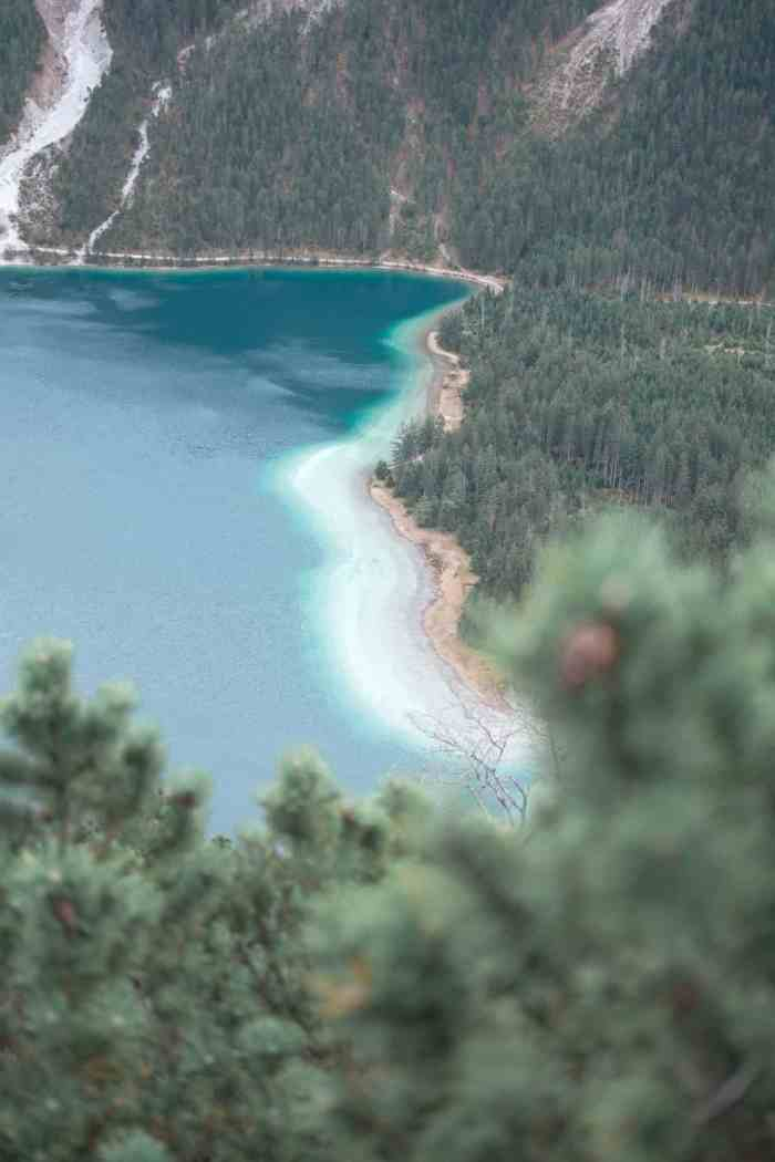 how to get to the viewpoint at Plansee