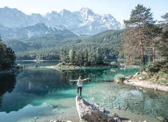 Best hikes in Bavaria - Eibsee