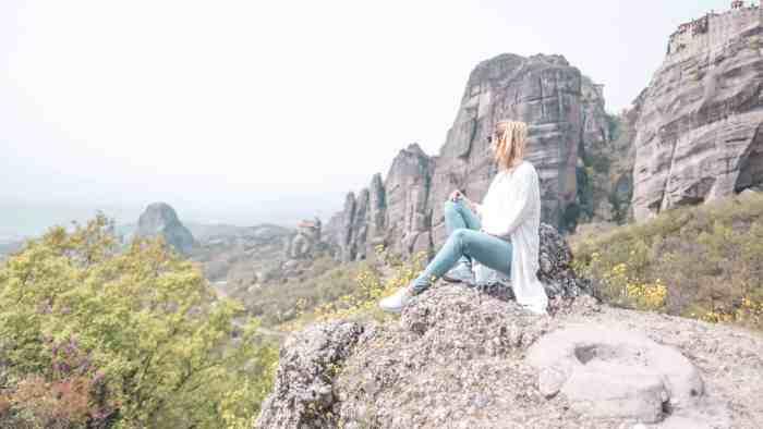 Best viewpoints of Meteora Monasteries