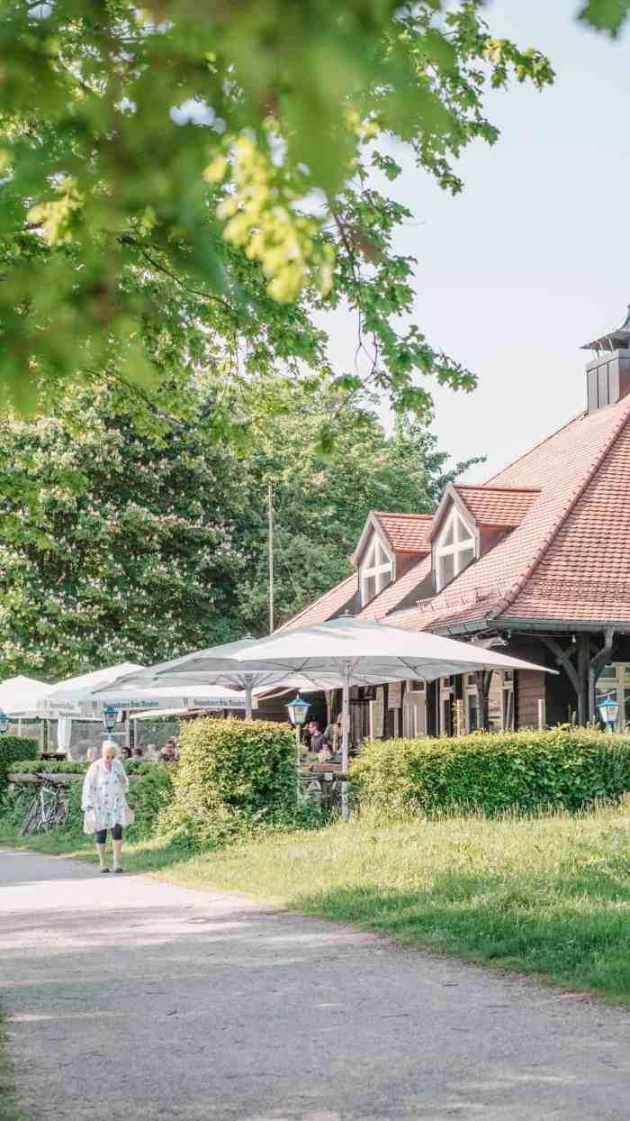 Best lakes to swim in Munich and around: Lake Starnberg, Percha beach