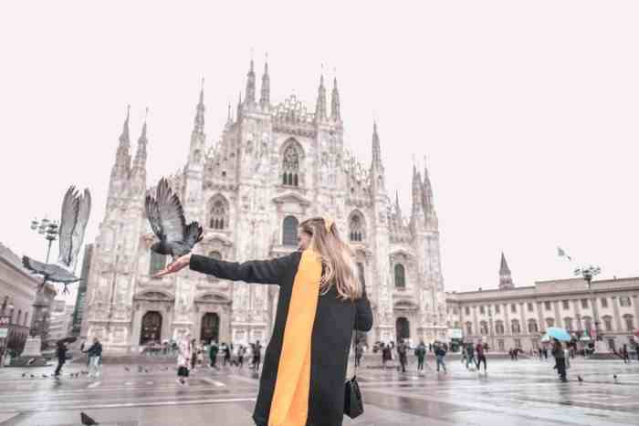 Instagrammable places in Milan: Duomo di Milano