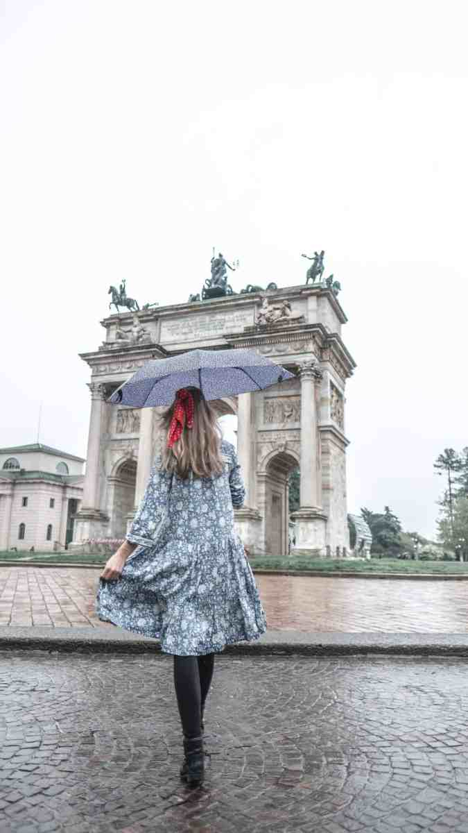 Instagrammable places in Milan: Arco de la Pace