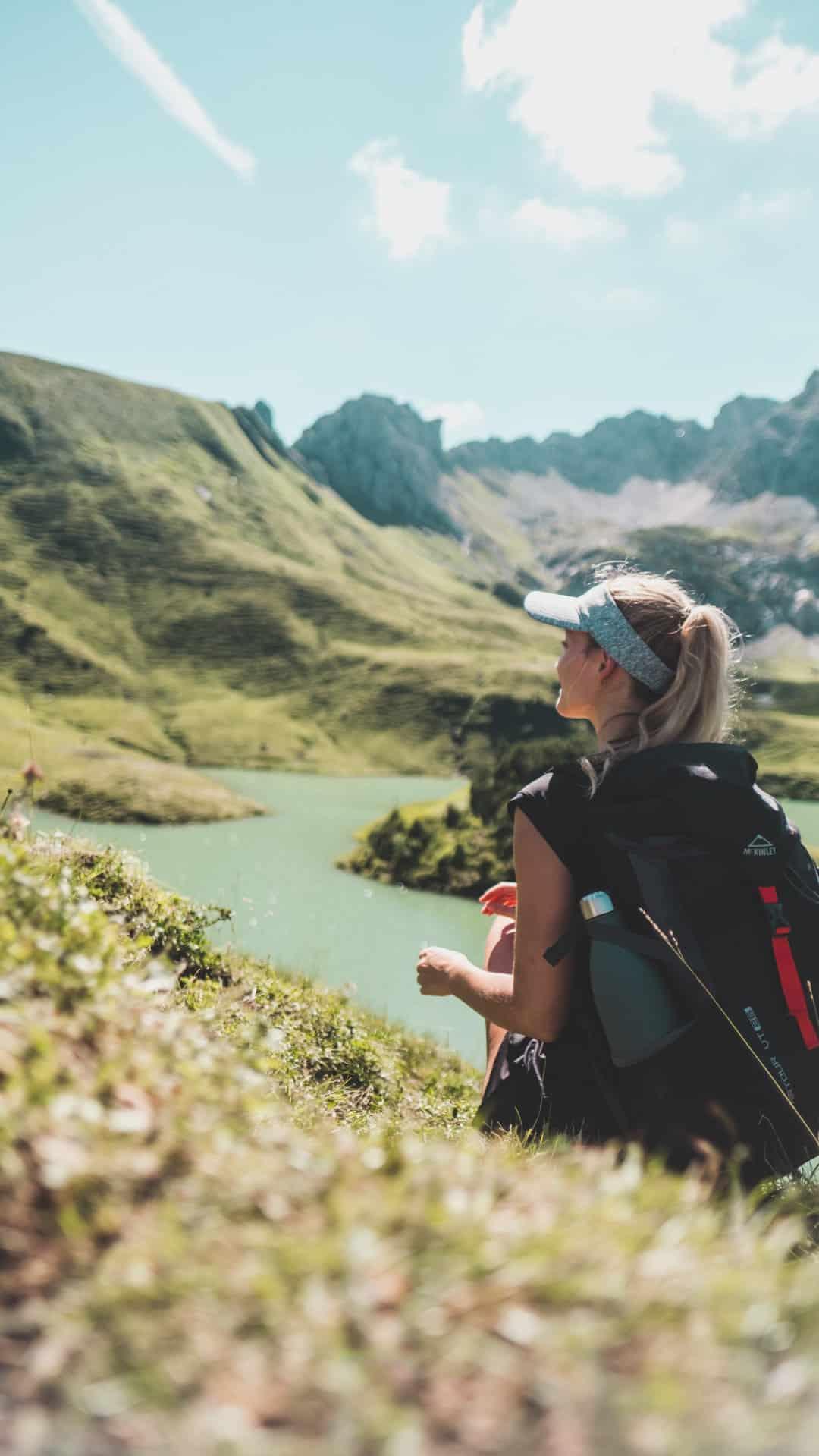 hike Schrecksee - view