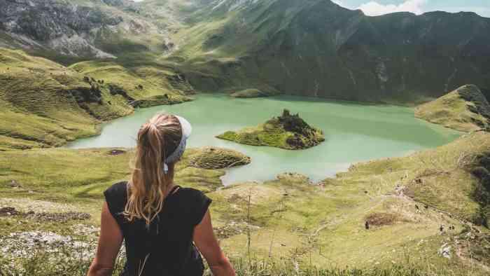 Beste Wanderungen in Bayern: Schrecksee