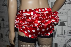 Sissy Panties Polka Dot Satin