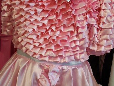 Bow Peek Sissy Dress