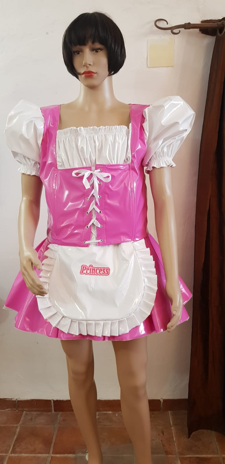 """The """"Heidi"""" Sissy Maid PVC Dress – Ask About Colour Choices – Hand Made to Any Size"""