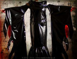 """""""Morticia"""" PVC Costume 3"""