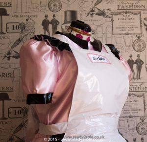 Alice Even More Satin & PVC Maids Dress 2