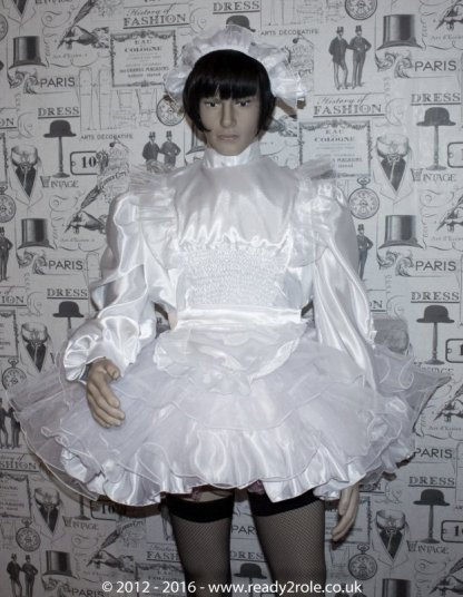 Bridie – Sissy Satin & Organza Dress – Ask About Other Colour Choices 1