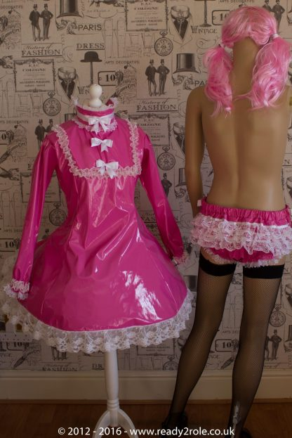 """The """"Fleur"""" PVC Dress – Ask About Colour, Fabric and/or locking Options 4"""