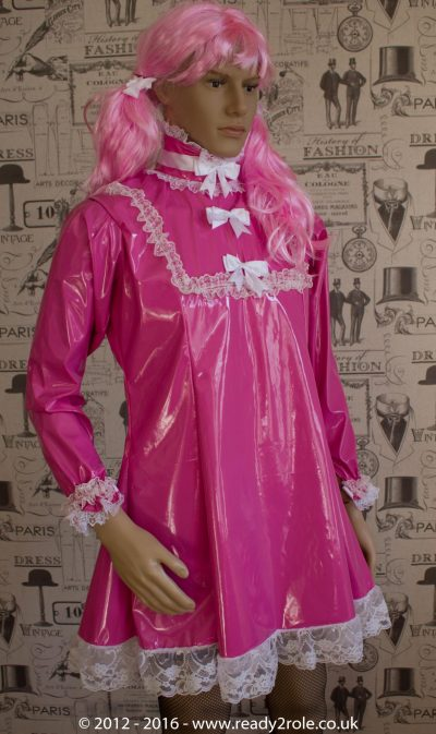 """The """"Fleur"""" PVC Dress – Ask About Colour, Fabric and/or locking Options 1"""