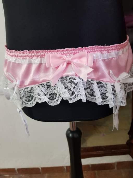 Sissy Suspender Belt