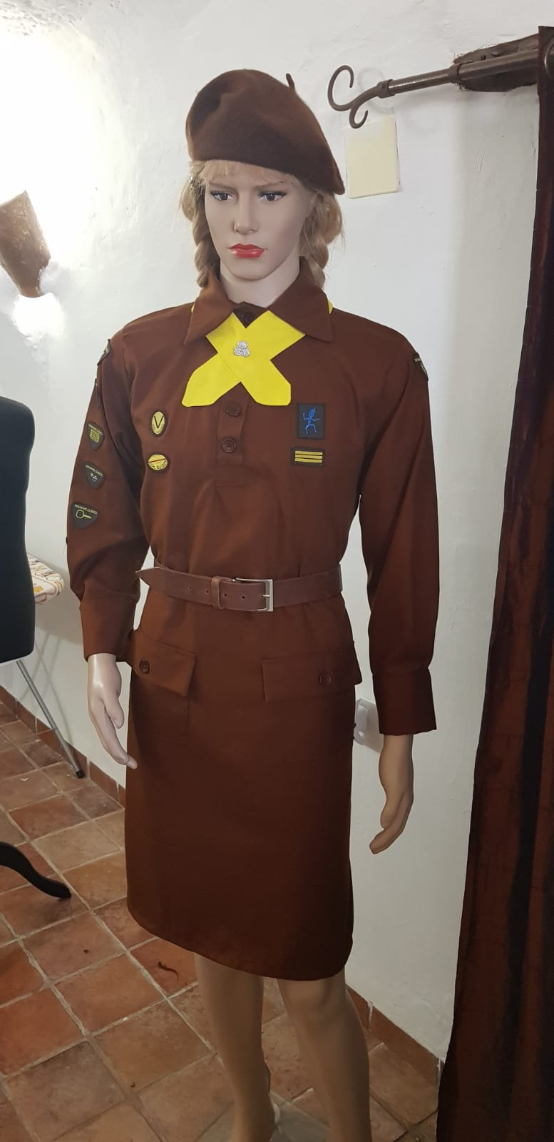 Brownie Sissy Dress