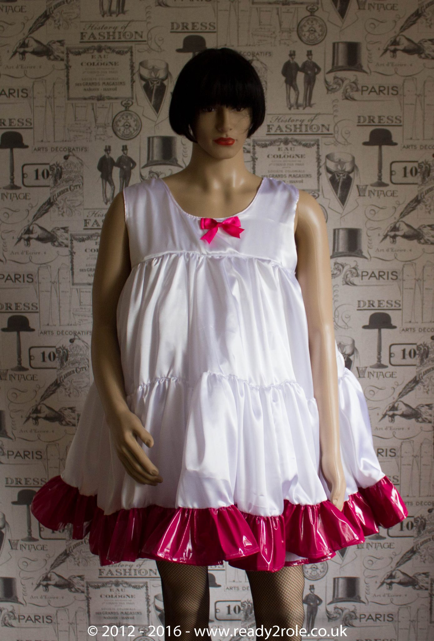 Baby Doll Bodice Petticoat With Contrast Trim