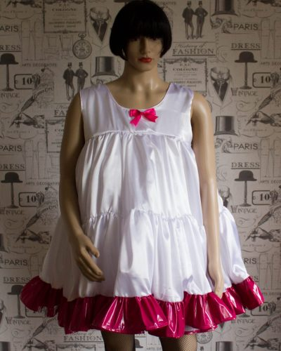 Baby Doll Bodice Petticoat With Contrast Trim 1