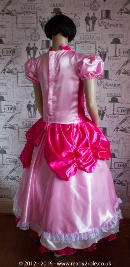 Princess Peach – Custom Creation in Satin 3