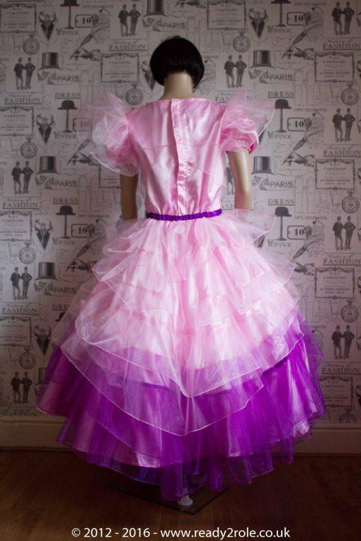 Princess Stephanie – Custom Creation in Satin 1