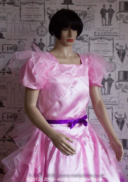 Princess Stephanie – Custom Creation in Satin 3