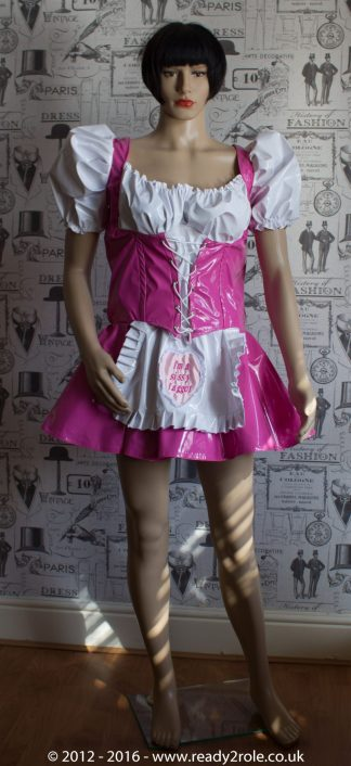 "The ""Heidi"" Sissy Maid PVC Dress – Ask About Colour Choices – Hand Made to Any Size 1"