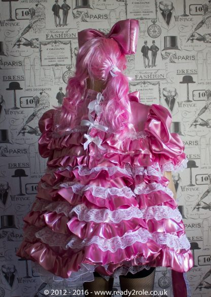 """Liquid Lola"" Sissy Satin Outfit – Ask About Colour Choices – Each Order is Hand Crafted to Your Sizes 4"