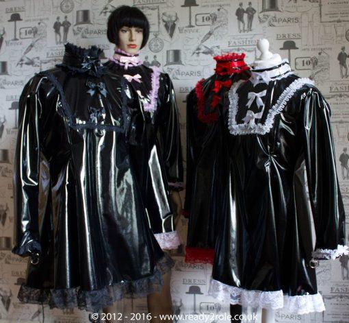 """The """"Fleur"""" PVC Dress – Ask About Colour, Fabric Options 6"""