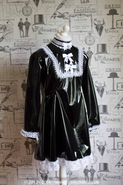 """The """"Fleur"""" PVC Dress – Ask About Colour, Fabric Options 2"""