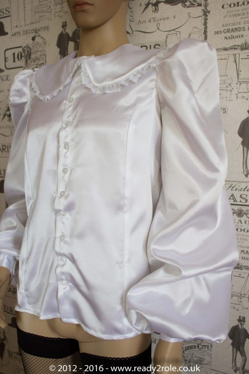 Sissy Satin Blouse – Ask About Colour Choices 5