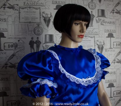 """Princess Starre"" Sissy Satin Dress 3"