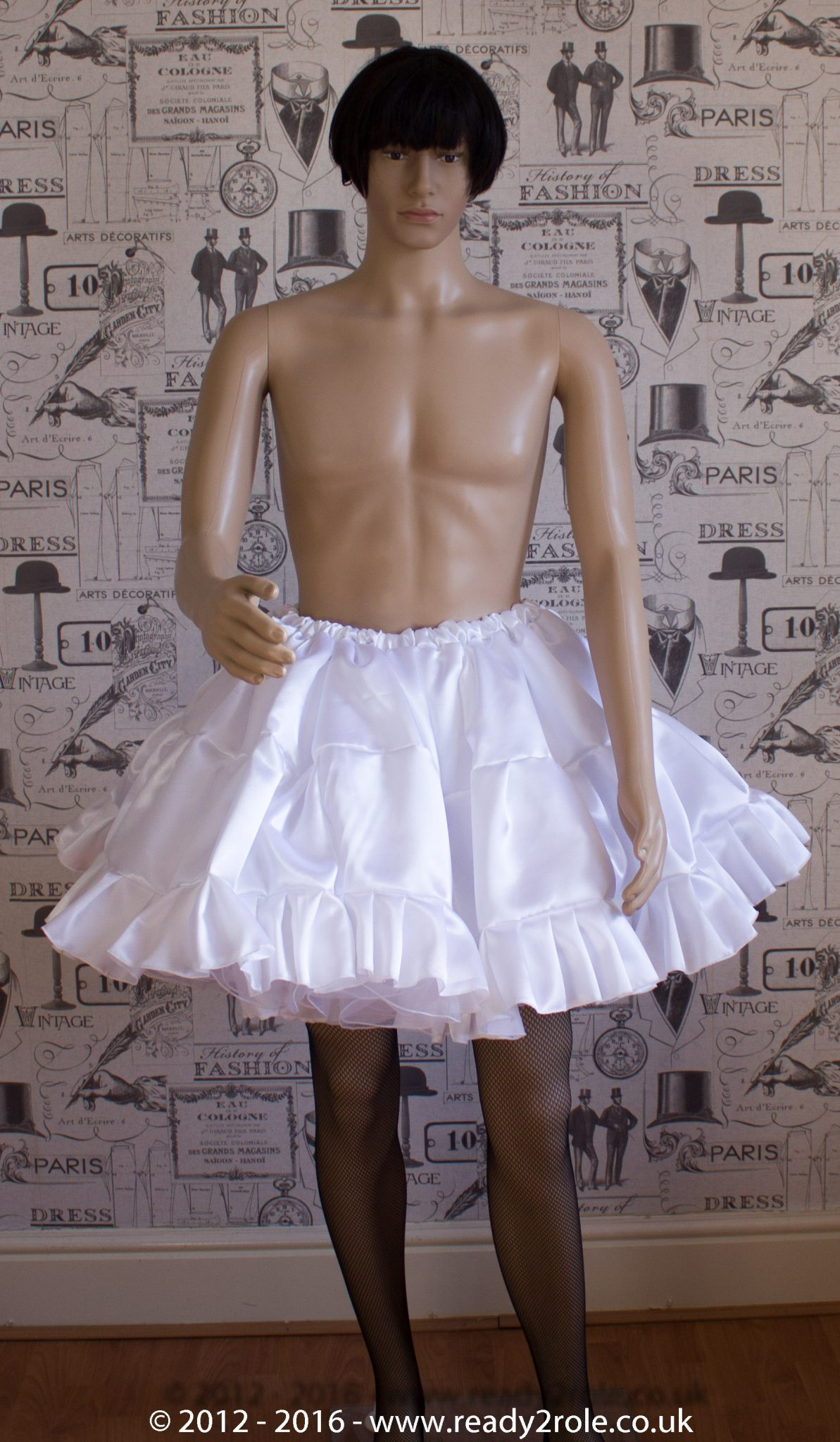 Sissy Frilly ULTRA Hand Crafted 4 Layer Petticoat