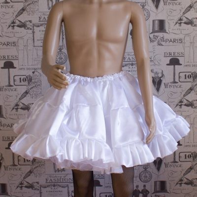 Sissy Frilly ULTRA Hand Crafted 4 Layer Petticoat 1