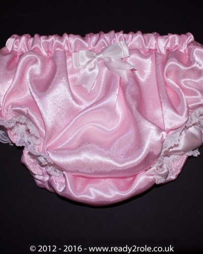 Sissy Satin Panties – Pink – Ask About Colours 1