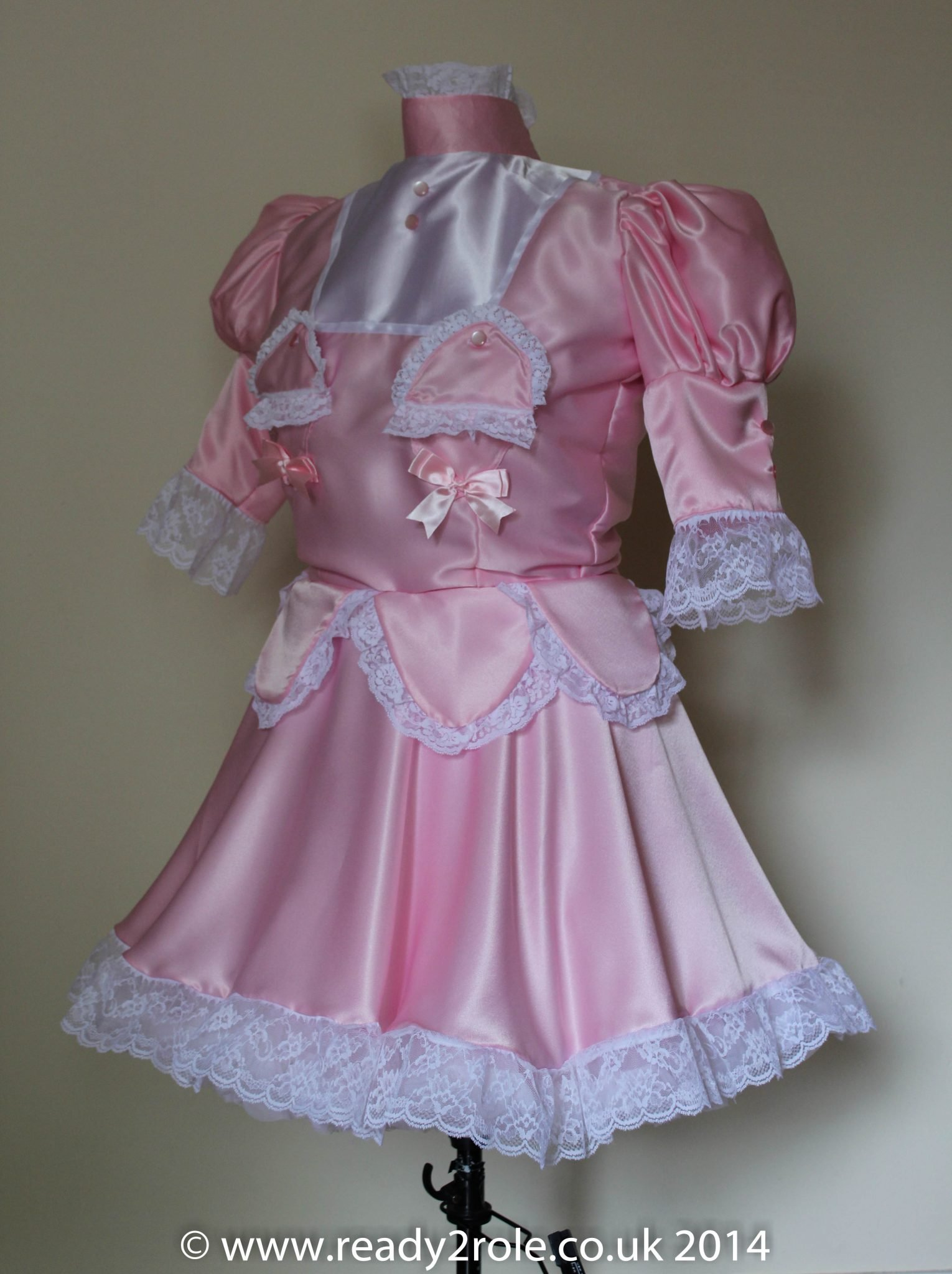 "Sissy Dress ""The Petal"" Lockable Sissy Dress with Hidden Secrets – Made to Measure and in a Colour of your Choice"