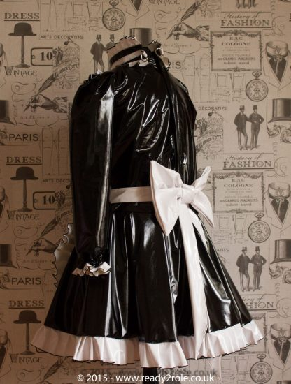 """The """"Lucy Locket"""" Sissy Lockable PVC Dress – Ask About Colour Choices – Hand Made to Any Size 2"""