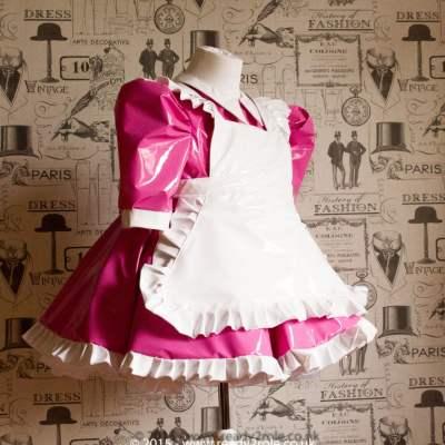 Baby Doll Alice PVC Maids Dress 1