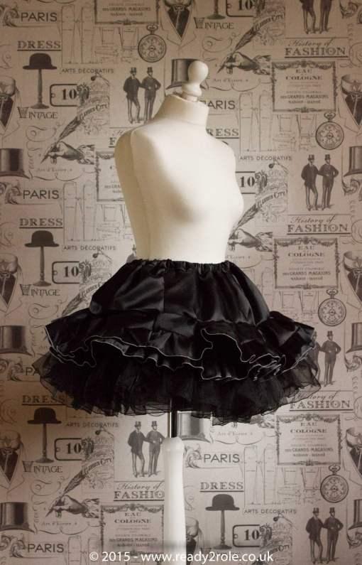 Victoria – Sissy Satin Long Sleeved Dress 7