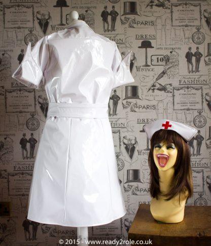 PVC Vintage Nurse Dress 2