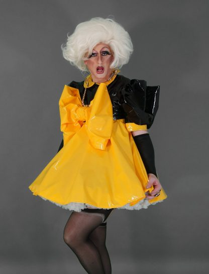 """The """"Bow Kay"""" Sissy Dress in PVC – Ask About Colour Options 8"""